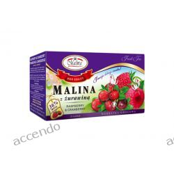 MALWA TEA HERBATA OWOCOWA MALINA Z ŻURAWINĄ 20TB