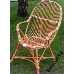 Super Krzesło wiklinowe Nowość na Allegro Polecam