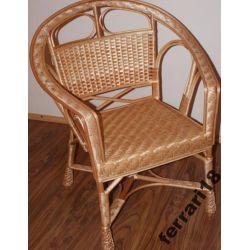 Przepiękny fotel wiklinowy jedyny taki na allegro
