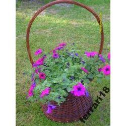 Śliczny kosz ogrodowy Doskonały na kwiaty Polecam Ozdoby choinkowe