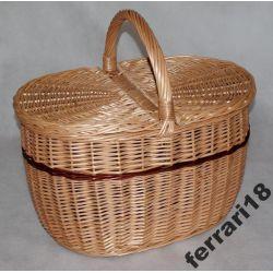 Kosz piknikowy bardzo praktyczny ,pojemny Zamykany Koszyki