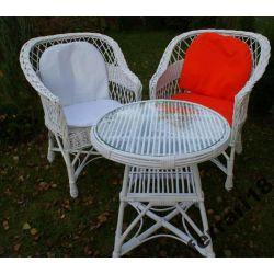 Przepiękne fotele ,stół meble ogrodowe Wodoodporne
