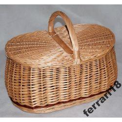 Kosz piknikowy bardzo praktyczny ,pojemny Zamykany Ozdoby choinkowe
