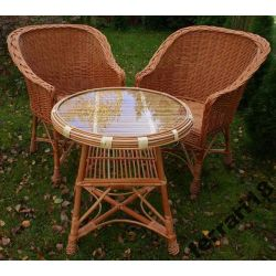 Fotele i stół meble ogrodowe , balkonowe Producent