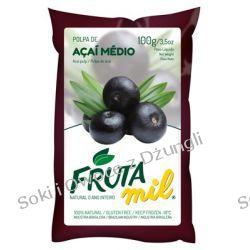 Acai Berry miąższ (puree owocowe, pulpa, sok z miąższem) bez cukru