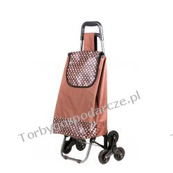 Wózek na zakupy z potrójnymi kołami  3K 04