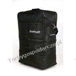 Duża torba podróżna na kółkach SACKAR 3W1
