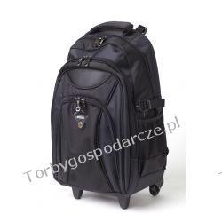 Plecak szkolny na kółkach SACKAR BLACK 01