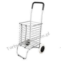 lekki wózek zakupowy z koszem W-KOSZ01