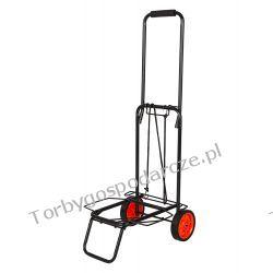 Wózek dwukołowy ręczny składany - mały WM01 black