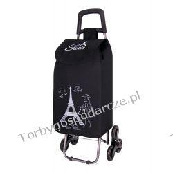 Wózek na zakupy z potrójnymi kołami  3K Paris