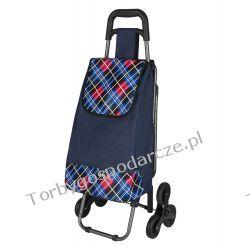 Wózek na zakupy z potrójnymi kołami  3K 14