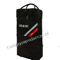 Torba podróżna na kółkach, składana ORMI 3W1 50cm/32cm/8cm