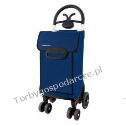 Wózek na zakupy na czterech kółkach  Aurora Forza 4kk