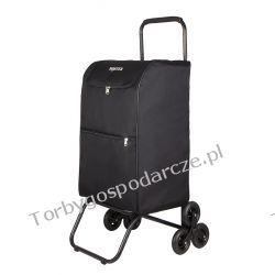Schodowy wielki wózek transportowy na ulotki pocztowy składany Boster XXXL 3k