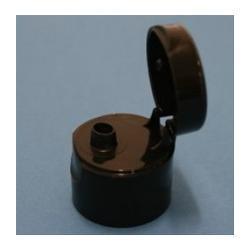 20mm Flip Top Cap (Black)
