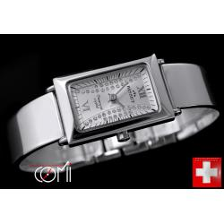 BISSET SWAROVSKI STERLING  SILVER  SWISS MADE