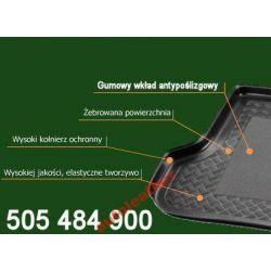 Dywanik ochronny bagażnika FORD MONDEO MK3 hb/sed