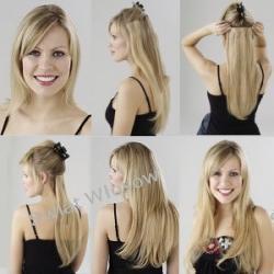 Zestaw Włosy Naturalne Clip in 40 -42 cm -7 taśm