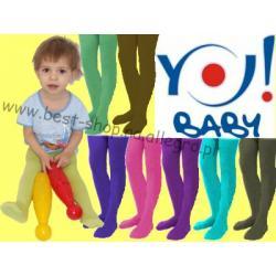 YO! Rajstopy dzieciece mikrofibra roz 92-98 YORKER