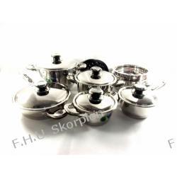 16 elem. komplet garnków Rossler PL127