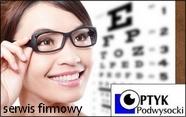 strona firmowa firmy Optyk Podwysocki