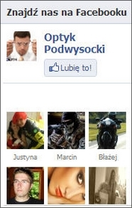 Facebook Optyk Podwysocki