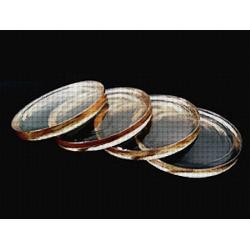 Soczewki szklane, fotochromowe indeks 1.52 z antyrefleksem AR Cyprys.