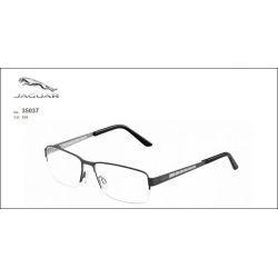 Okulary męskie z tytanu Jaguar 35037