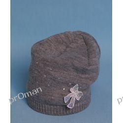 czapka W-08 A    jasnoszary