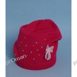 czapka W-08 B    malinowy