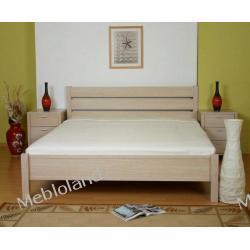 Łóżko z szafkami Dąb bielony