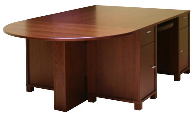 Duże biurko gabinetowe