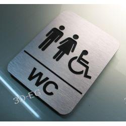 Piktogram  WC  Kodedukacyjne dla Niepełnosprawnych