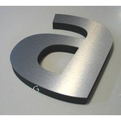 Litery loga  cyfry napisy styrodur-DIBOND wys 35cm