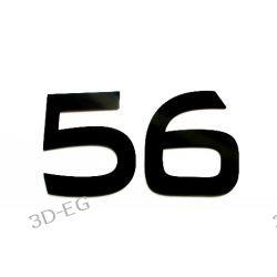 Numer Numery Cyfra na Drzwi Dom BA 17cm błysk mat