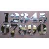 Numer, Numery, Cyferka, Cyferki na Drzwi z pleksi lustro wys 5,5 cm