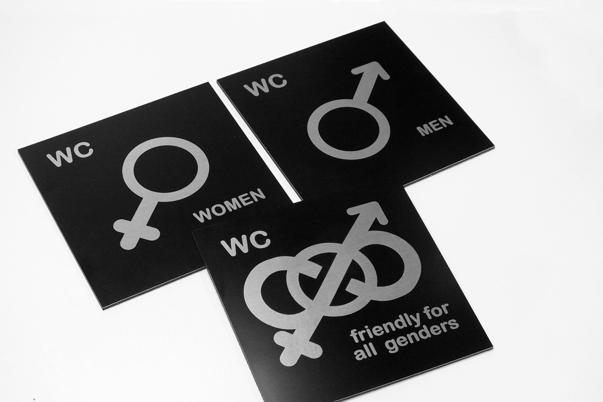 Symbol Tabliczka Wc Toaleta Męska Damska C00 Czarne 3d Eg Numer Numery Na Drzwi Pleksi Dibond Aluminium Dibond Led Reklama Aluminium Piktogramy Wc Grawerka