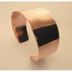 Miedziana bransoleta dla miłośniczek lśniącego blasku