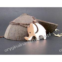 Naszyjnik - Szczęśliwy słonik