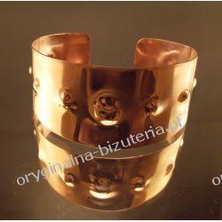 MELANIJA - Miedziana bransoleta