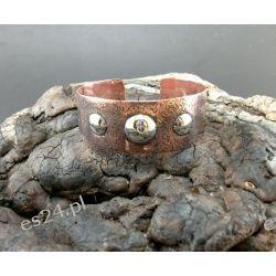 Bransoletka - Potrójne srebrne oczko