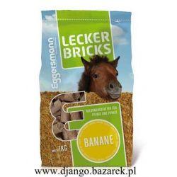 Lecker Bricks Banane EGGERSMAN cukierki dla konia Bananowe (Z)