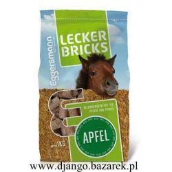 Lecker Bricks Apfel EGGERSMAN cukierki dla konia Jabłkowe (Z)