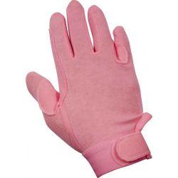 Rękawiczki YORK Izi różowe M (Z)