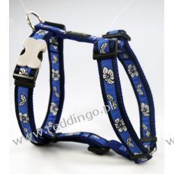 Szelki  XL -  HIBISCUS  BLUE
