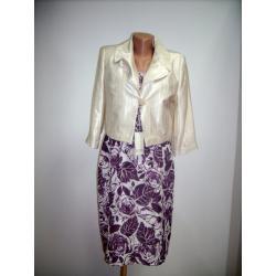 sukienka z żakietem 'ROTEX' roz.42