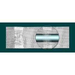 Specjalna taśma do firan szeroka 10 cm z mocowaniem z tunelem TUNEL - dowolne marszczenie...