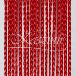 Firana makaron czerwony, czerwień 250x145 + woreczek do prania...