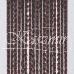 Firana makaron brązowy, brąz 250x145 + woreczek do prania...